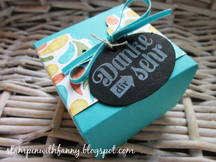 21 best alle meine minis images on pinterest stamping up card stampin up gift box punch board tafelpapier geschenk deiner wahl geburtstagsparty stampinwithfanny negle Images