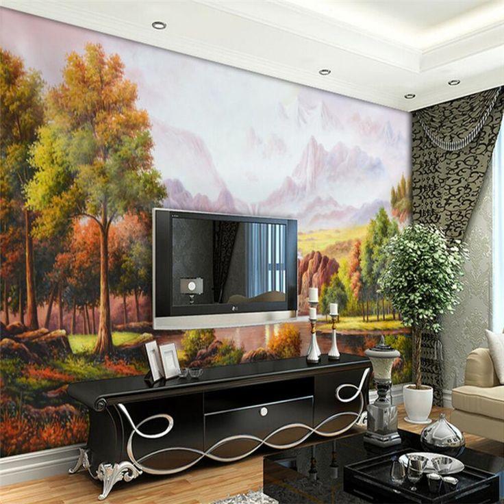 The 25 best 3d wallpaper painting ideas on Pinterest