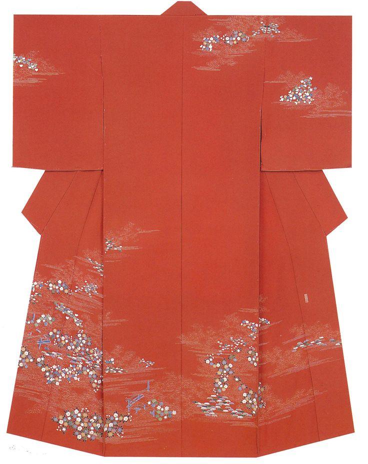 Kaga-Yuzen Kimono