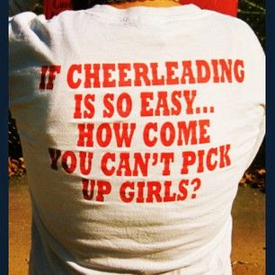 HAHAHAHAHAHA! Im not a cheer leader anymore, but this is so funny!