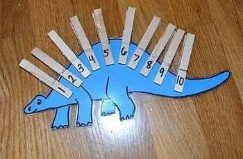 dinosaurio numeros