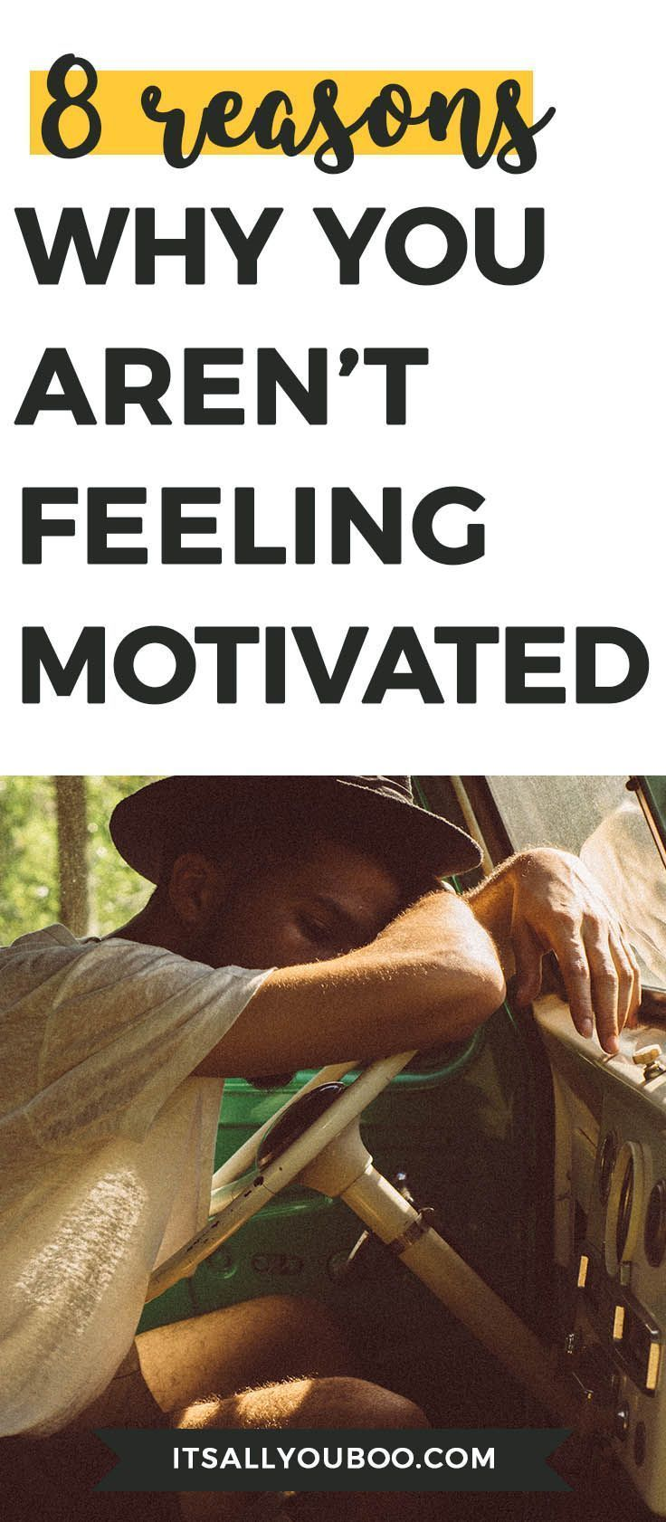 Have you lost your motivation? Are you struggling to get anything done? Let's figure out why. Here are 8 motivation killers you need to know about + how to fix it. It's time to get motivated.