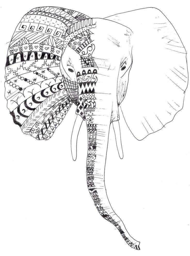 słoń,  elephant, elefante, elefant, fil, éléphant   by joanna0208