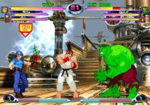 Marvel vs. Capcom 2 gameplay - Marvel vs. Capcom 2: New Age of Heroes - Wikipedia, the free encyclopedia