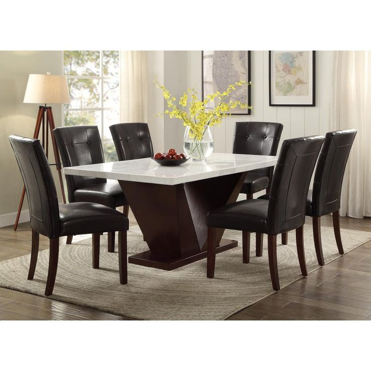 17 Best Ideas About Dining Table Bench On Pinterest: 17 Best Ideas About Marble Top Dining Table On Pinterest