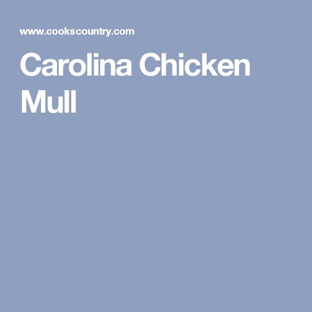 Carolina Chicken Mull