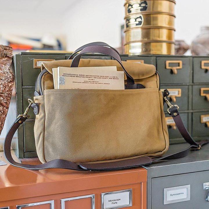 www.Filson.com | Good for life, guaranteed to last. The Original Briefcase