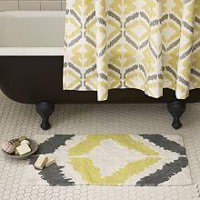 Best Contemporary Bath Mats Ideas On Pinterest Contemporary - Yellow bath rugs for bathroom decorating ideas
