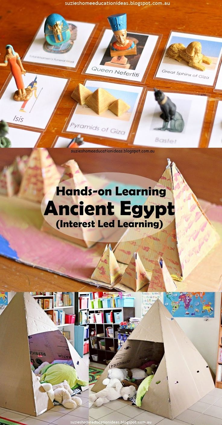 Hands-on Learning about Ancient Egypt