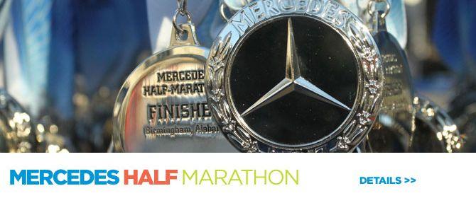 17 best images about 50 in 50 by 50 5k 10k half on for Mercedes benz marathon birmingham