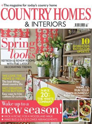 Country Homes Interiors Mar, '11