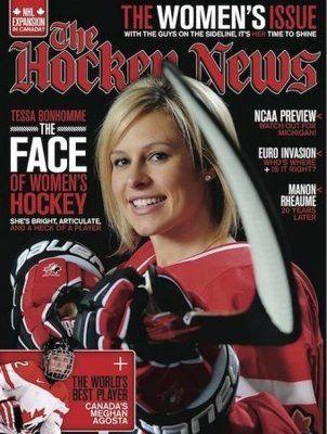 Tessa Bonhomme- The Hockey News