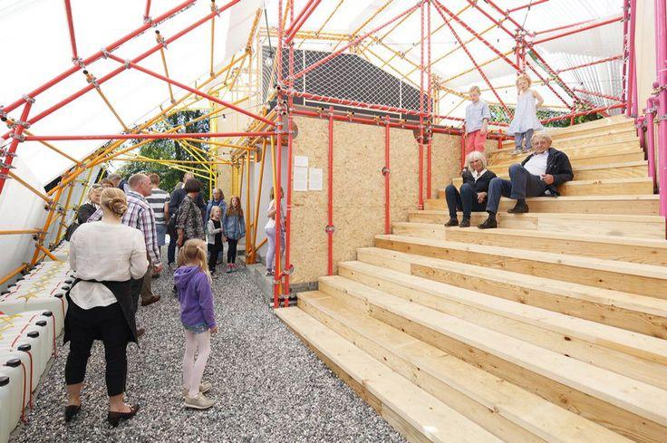 SelgasCano's Louisiana Hamlet Pavilion to House a School in Nairobi's Kibera Slum,Courtesy of SelgasCano