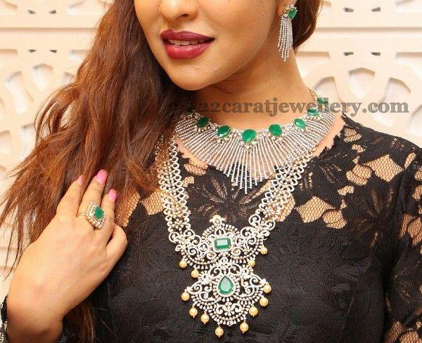Payal Ghosh Diamond Jewellery