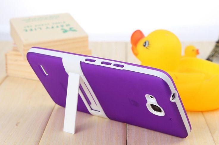 2015 новый 2 в 1 мягкие TPU сотового телефона владельца ленивый кронштейн подставка задняя крышка чехол для HUAWEI Ascend чести 3X g750 G750-T00