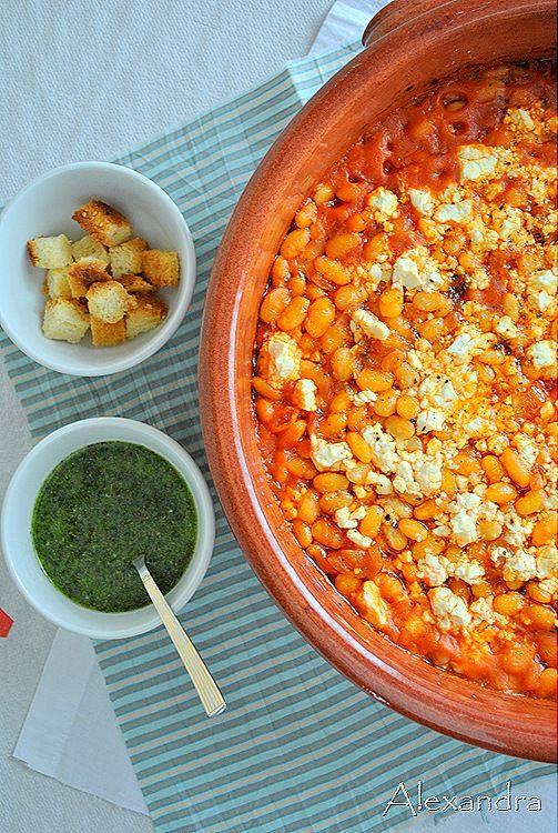 Μα...γυρεύοντας με την Αλεξάνδρα: Γίγαντες ή φασόλια στο φούρνο με pesto ρίγανης