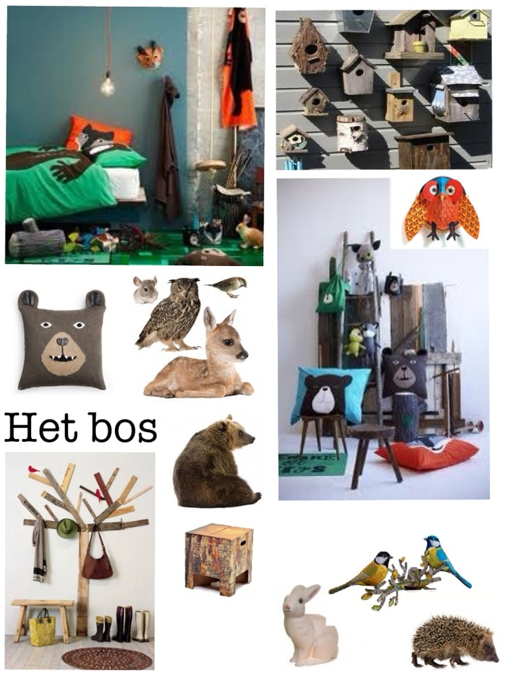 129 best kinderkamer - bos images on pinterest, Deco ideeën
