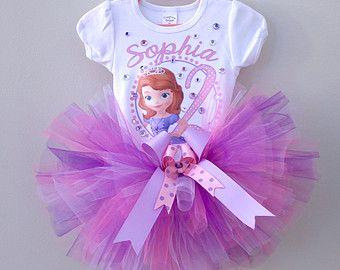Sofia the first tutu princess Sofia tutu by AlessandrasLittleBow