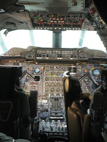 Concorde Cockpit  #airplane   #cockpit