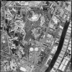 1949 aerial view of the brickpits