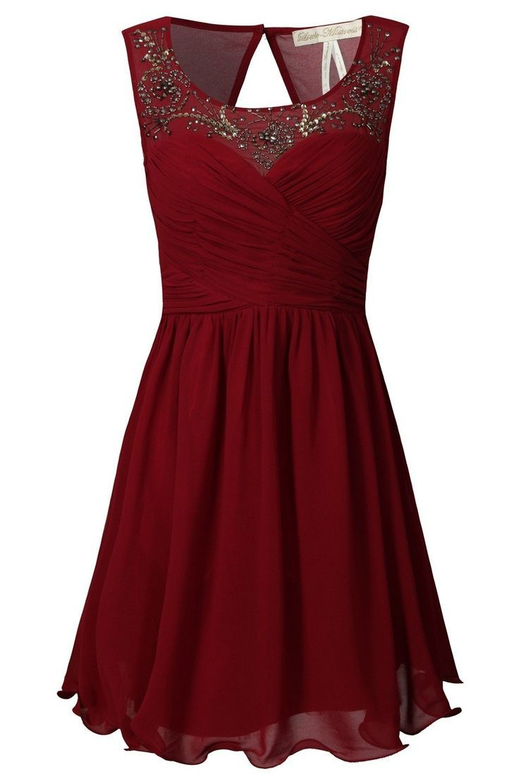 christmas party dresses red -#main