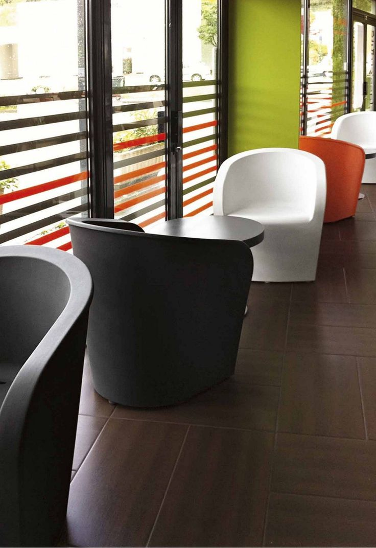 SYT CHAIR Polyethylene armchair in rota-moulded material. Available in orange, turtle dove and mocha. Syt features an ergonomic and functional design that is particularly suitable for outdoor use thanks to the hole in the seat that drains away rainwater. For a quote email info@swcontracts.co.za or give us a call on 011 262 3521.
