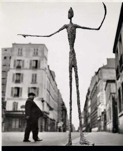 Sculpture, Alberto Giacometti, 1951  Gordon Parks
