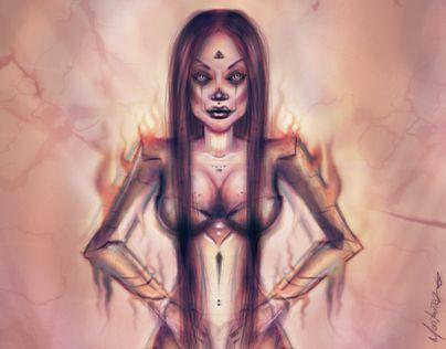 "Check out new work on my @Behance portfolio: ""Gold ]Girl - Art Digital"" http://be.net/gallery/49152027/Gold-Girl-Art-Digital"