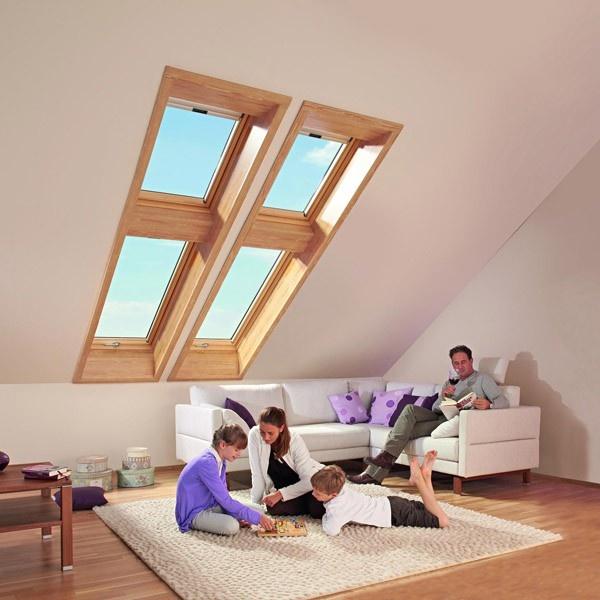Roto Designo Hoch-Schwingfenster WDF R75H