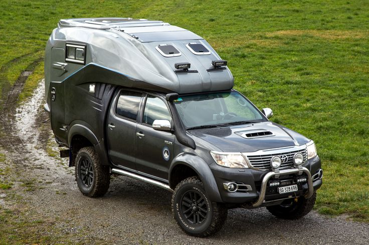 TOYOTA HILUX EXPEDITION V1 by GEOCAR & HURTER OFFROAD ...