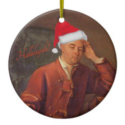 Handel portrait ornament - Messiah - Hallelujah - home gifts ideas decor special unique custom individual customized individualized