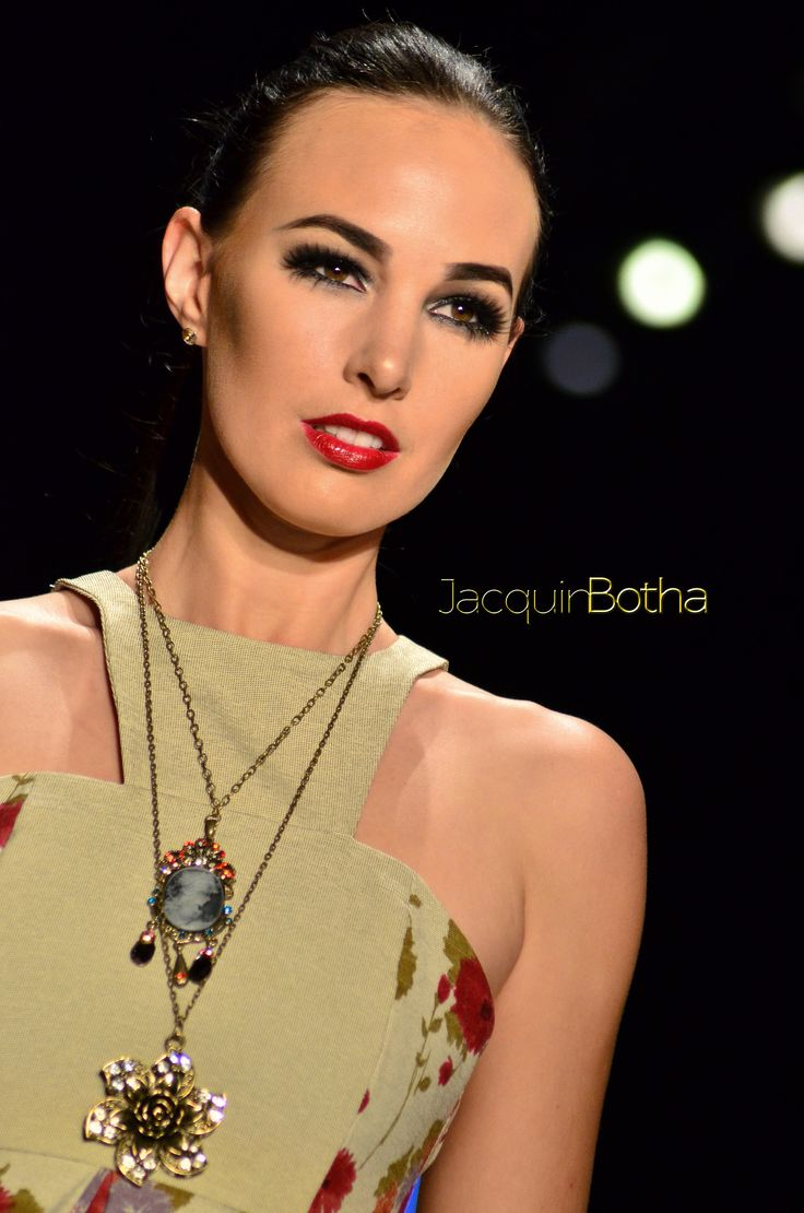 The beautiful Tamerin Jardine at #SAFW2014 Jacquin Botha Photography