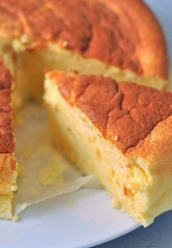 "Japanese ""Cotton"" Cheesecake | #glutenfree"