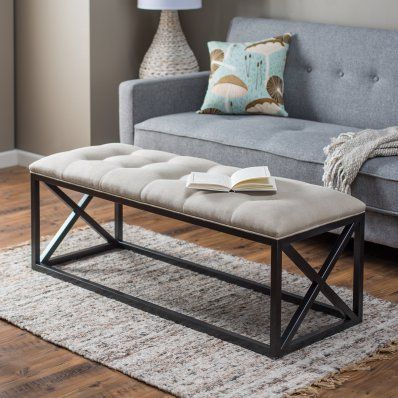 Belham Living Grayson Tufted Entryway Bench In 2020 Entryway Bench Entryway Bench Ikea Entryway Bench Storage