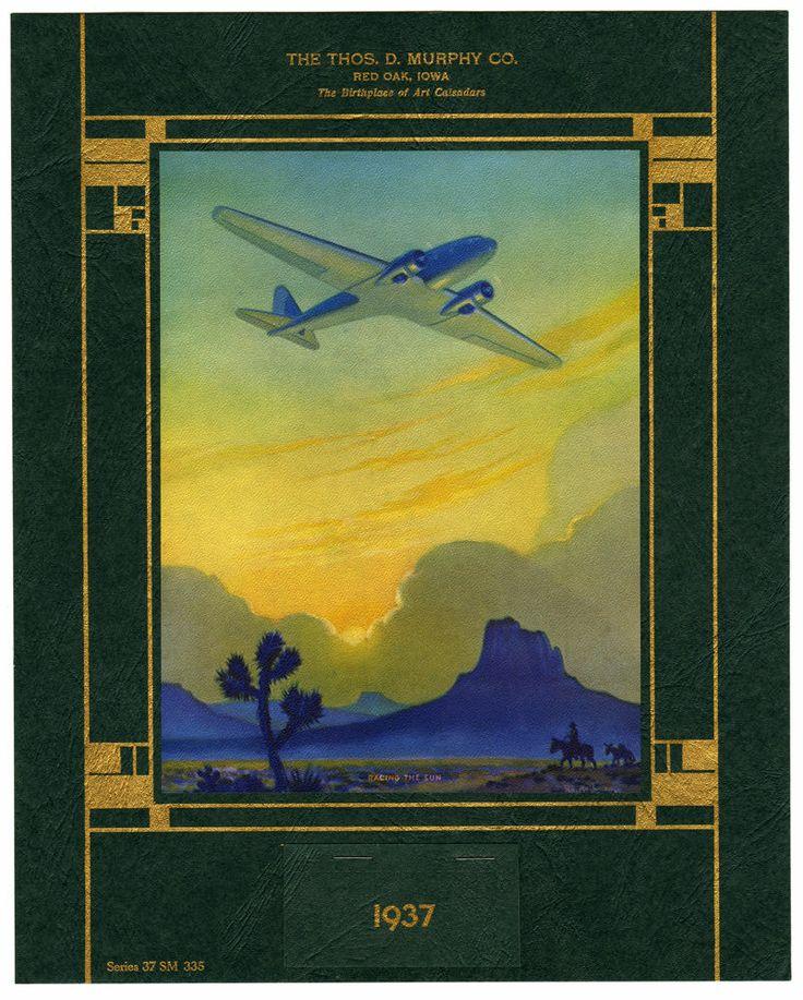 'Racing the Sun' 1937 by Ruehl Heckman