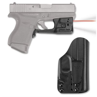 GLOCK® 42/43 LASERGUARD PRO WITH BLADE-TECH IWB HOLSTER | Brownells