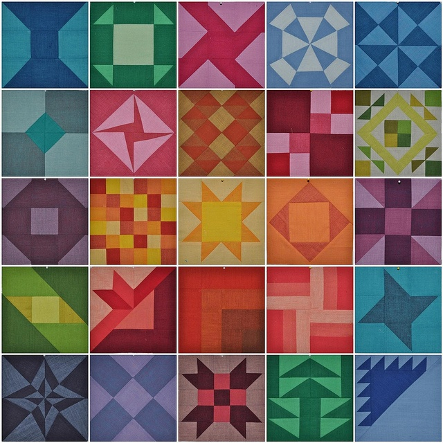 Farmer's Wife Q-A: 3D Quilts, Josef Albers, Patchwork Blocks, Machine Quilts, Quilts Beginner, Quilts Ideas, Photo, Farmers Wife, Diy Patchwork