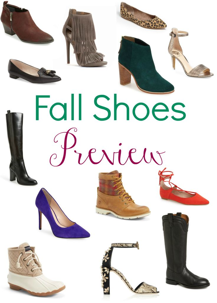 Dress: Fall Shoes Preview
