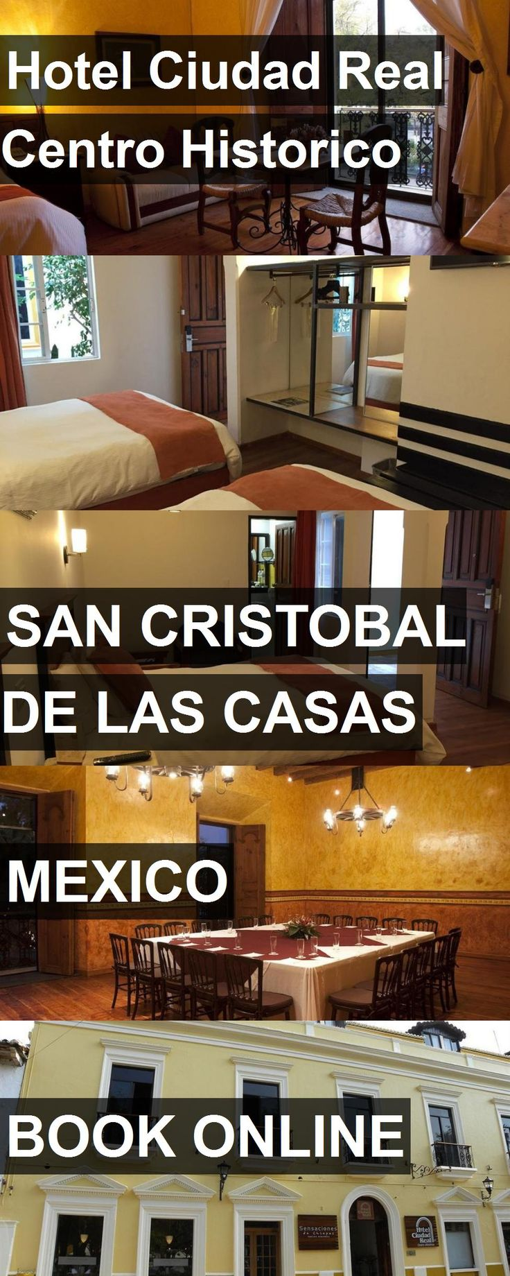 Hotel Ciudad Real Centro Historico in San Cristobal de las Casas, Mexico. For more information, photos, reviews and best prices please follow the link. #Mexico #SanCristobaldelasCasas #travel #vacation #hotel