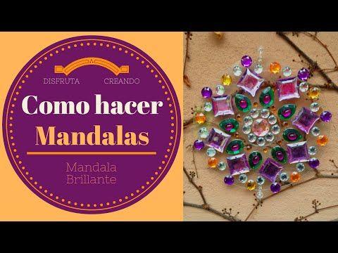 Como hacer un Mandala con CDs reciclados - YouTube