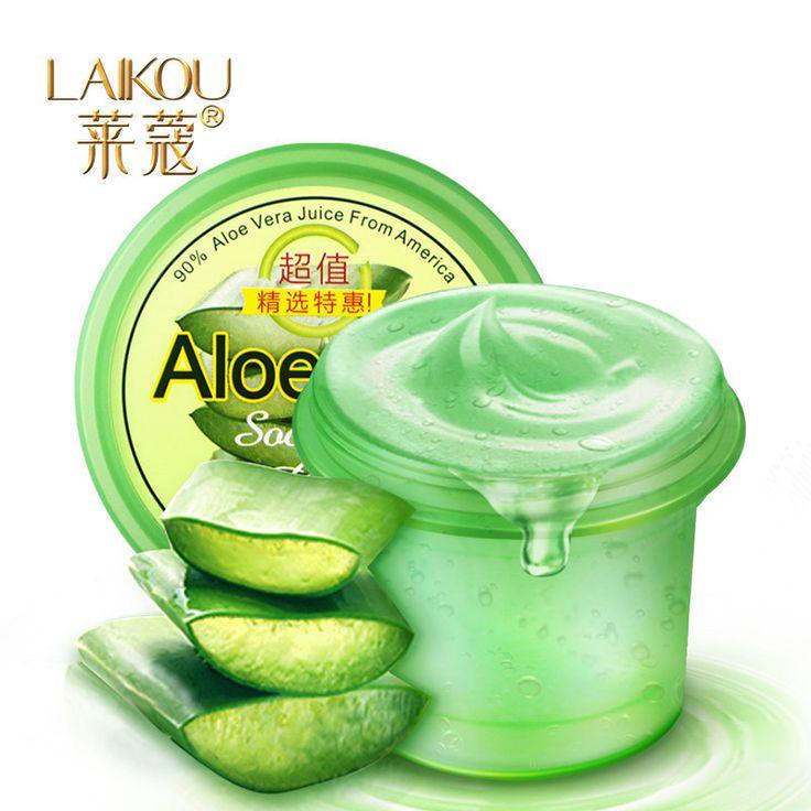 Laikou aloe vera gel de cicatriz de acné eliminación pockmark blanqueamiento crema hidratante emulsión cuidado de la cara 120g