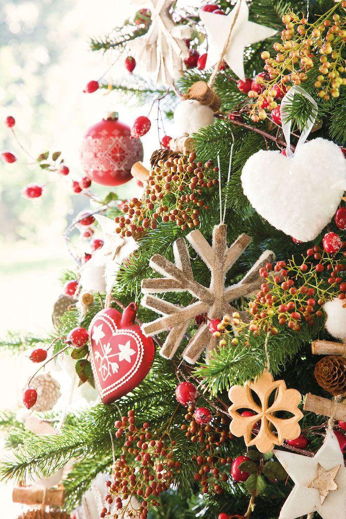 ▷ 1001 + Ideen, wie Sie Ihren Weihnachtsbaum schmücken wie ein ...