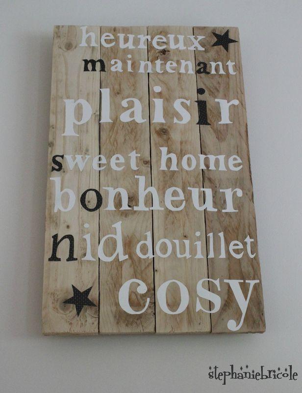palette décoration extérieure   DIY Une décoration en bois de palette - Moi Je Fais