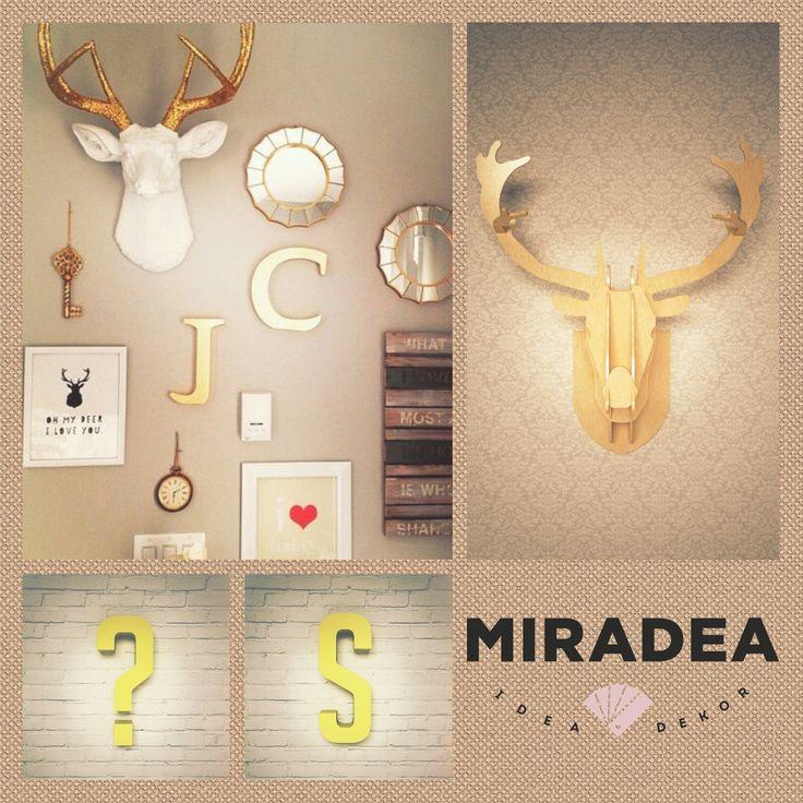 Fa szarvas trófea | Miradea