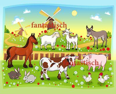 Играем до школы: Наборное полотно Кто живет на ферме