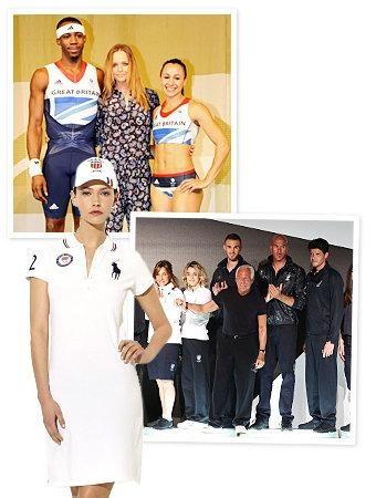 Olympics 2012 designer uniforms: Giorgio Armani, Ralph Lauren, and more...Americana at it's best!