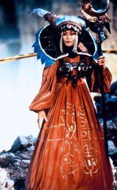 Power Rangers: The Movie villains: Rita Repulsa (Julia Cortez, voiced by Barbara Goodson)