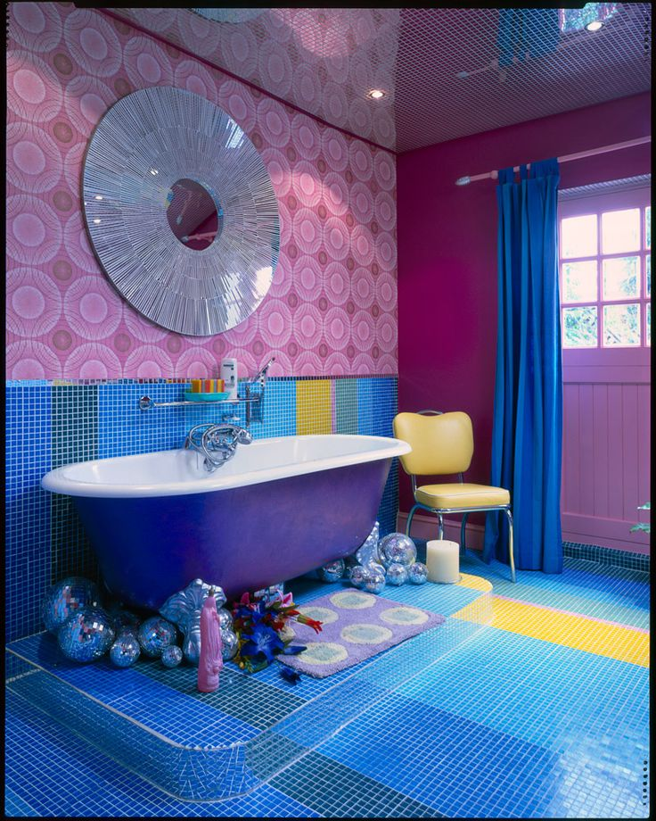 purple and blue interior pinterest bathroom