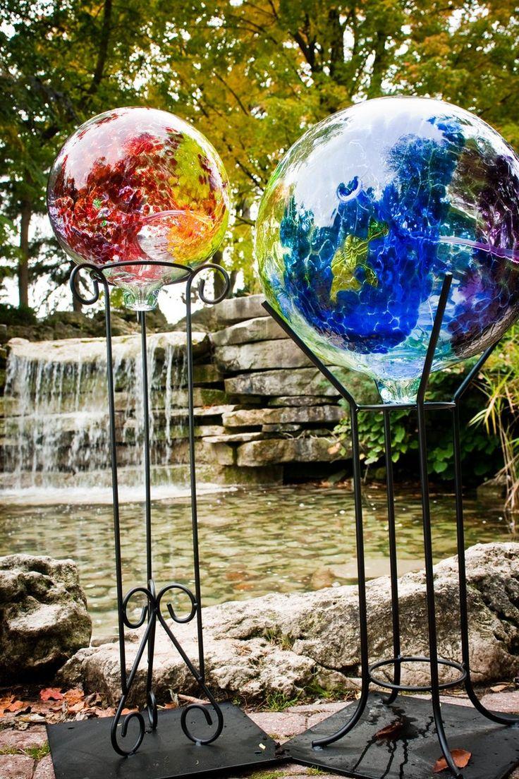 Garden, Gazing Balls | Kitras Art Glass   CA English