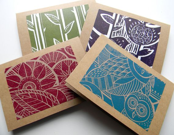 alamodeus: Linocut prints ...